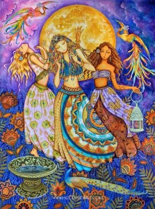 Every new moon women circle